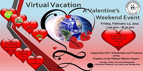 Virtual Vacation:   A Valentine's Day Event tickets