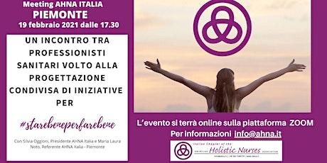 2° MEETING AHNA Piemonte biglietti