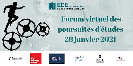 Forum des poursuites d'études de l'ECE - 28 Janvier 2021 billets