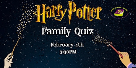 Harry Potter Online Family Quiz via Zoom! tickets