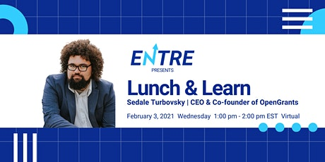 Lunch-n-Learn with CEO of OpenGrants tickets