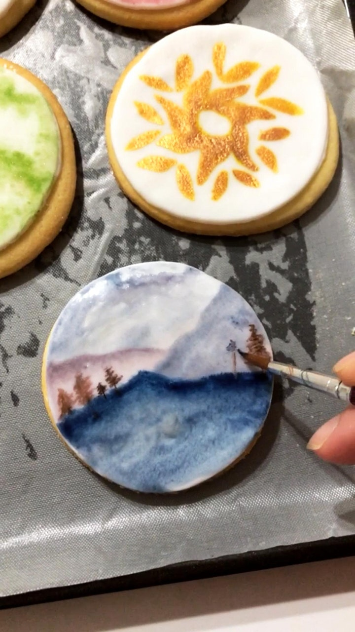 Watercolor Cookies image