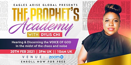 Hearing & Discerning  the voice of God( Prophetic Mentoring) tickets