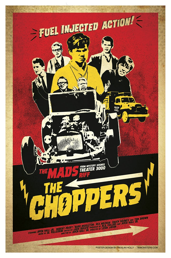 The Mads: The Choppers - Live riffing with MST3K's The Mads! image