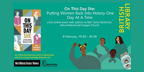 On This Day She: Putting Women Back Into History One Day At A Time tickets