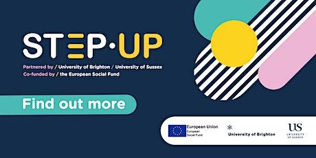 STEP-UP Programme briefing webinar tickets