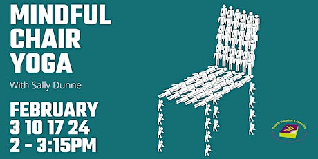 Mindful Chair Yoga with Sally Dunne via Zoom tickets