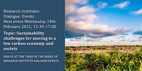 Sustainability Challenges for Moving to A Low Carbon Economy and Society tickets