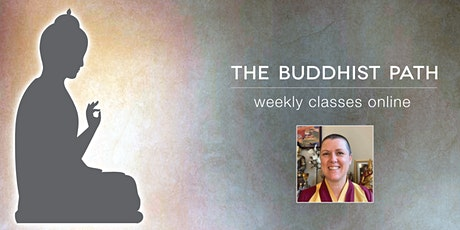 The Buddhist Path - a three week meditation class series tickets