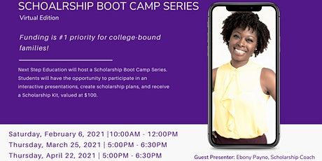 Spring 2021 Scholarship Boot Camp (Session 3) tickets