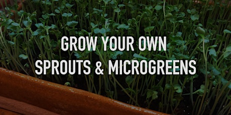 GROW YOUR OWN SPROUTS & MICROGREENS tickets