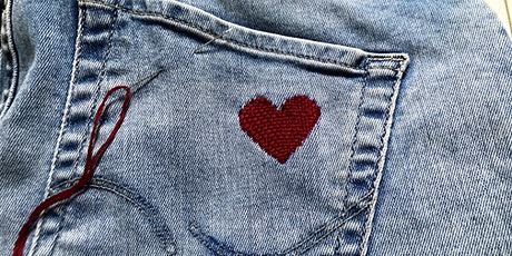 Get started with Darning - Zoom Workshop (Valentine's special!) tickets