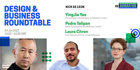 Design & Business Roundtable tickets