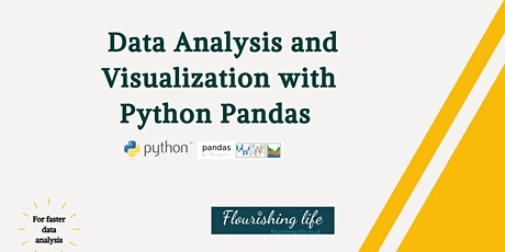 Data analysis and visualization  with PYTHON Pandas  - Instructor-led class tickets