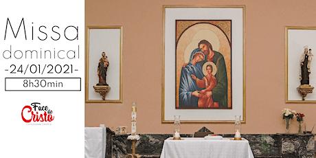 Missa Dominical - 24 de janeiro - 8:30 ingressos