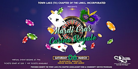 Mardi Gras Casino Royale tickets