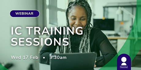IC Training session tickets