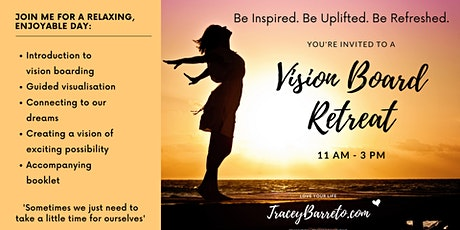Vision Board Retreat (at home via zoom) tickets
