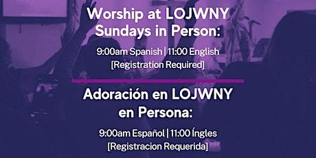 Sunday Service | Servicios Dominicales boletos