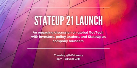 StateUp 21 Launch Event tickets