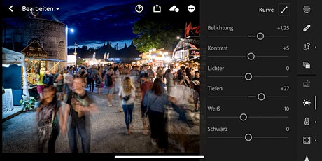 Online Workshop -  Bildbearbeitung per Smartphone mit Adobe Lightroom App Tickets