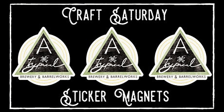 Craft Saturday - Sticker Magnets tickets