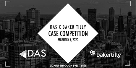DAS x Baker Tilly Case Competition 2021 tickets
