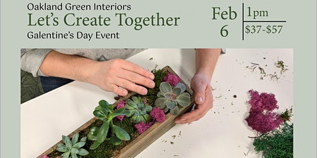 Galentine's DIY Succulent Planter tickets