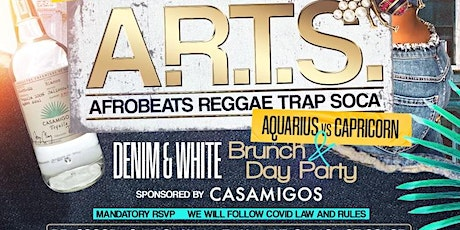 A.R.T.S.  DENIM & WHITE DAY PARTY  AQUARIUS  EDITION tickets