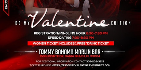 """The Real Speed Dating Event """"Be My Valentine"""" Edition tickets"""