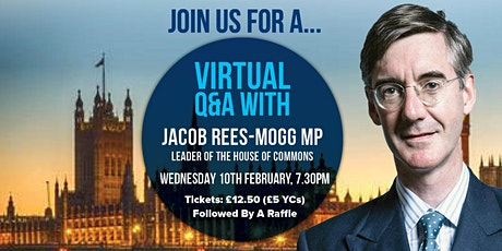 Virtual Q&A with the Rt Hon Jacob Rees-Mogg MP tickets