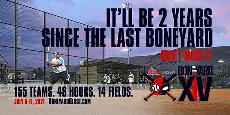The Coors Light Boneyard Blast XIV tickets