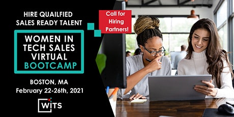 Women in Tech Sales Bootcamp 2021 - Boston, MA - EMPLOYER PARTNER PACKAGES tickets