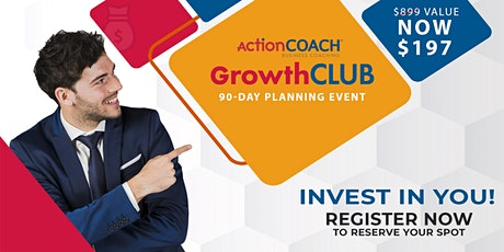 GrowthClub: Prepare your Business Plan for 2021 - Q3 tickets