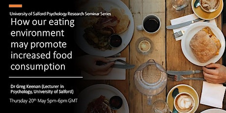 How our eating environment may promote increased food consumption tickets