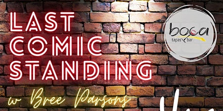 Boca Last Comic Standing tickets