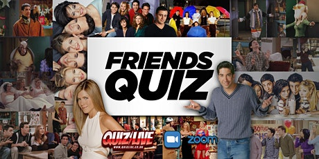 FRIENDS TV Show Quiz Live on Zoom tickets
