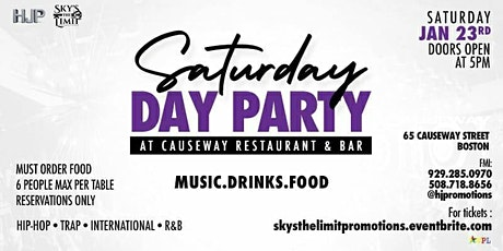 CAUSEWAY SATURDAYS tickets
