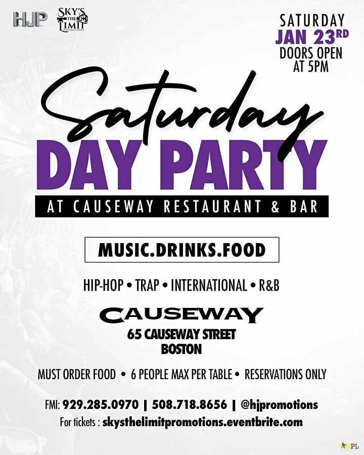 CAUSEWAY SATURDAYS image