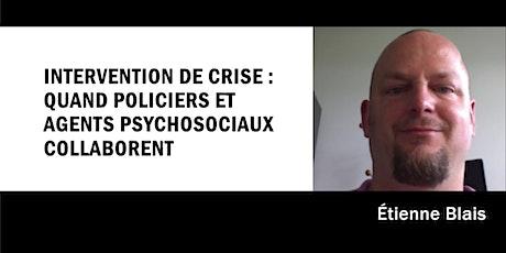 Intervention de crise : quand policiers et agents psychosociaux collaborent billets