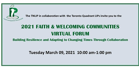 2021 Faith & Welcoming Communities Virtual Forum tickets