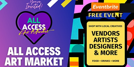 All Access Art Market: Finn Hall Houston (Feb) tickets