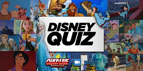 Disney Quiz Live on Zoom with Carl Matthews tickets