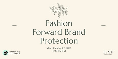 Fashion Forward Brand Protection tickets