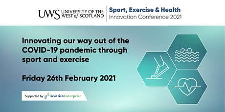 UWS Sport, Exercise & Health Innovation Conference 2021 tickets