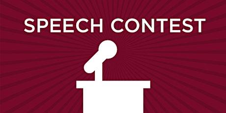 Area D83 International Speech Contest tickets