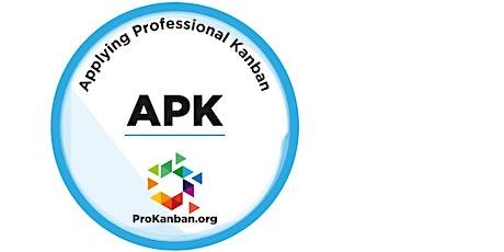 Applying Professional Kanban tickets