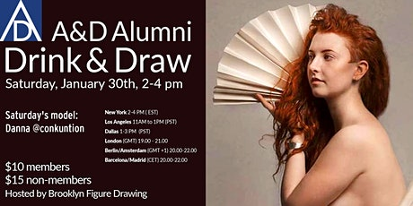 A&D Alumni Drink and Draw tickets