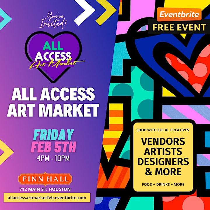 All Access Art Market: Finn Hall Houston (Feb) image