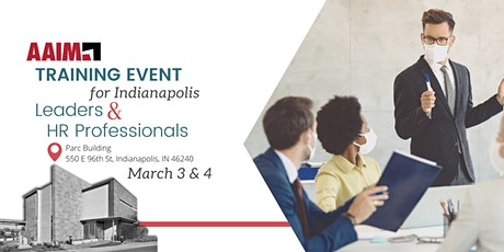 AAIM Training Event for Indianapolis Leaders & HR Professionals tickets